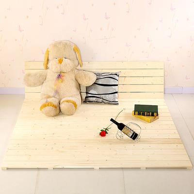 木板床铺单双人床板实木床简易折叠床榻榻米平板床架加厚铺板包邮