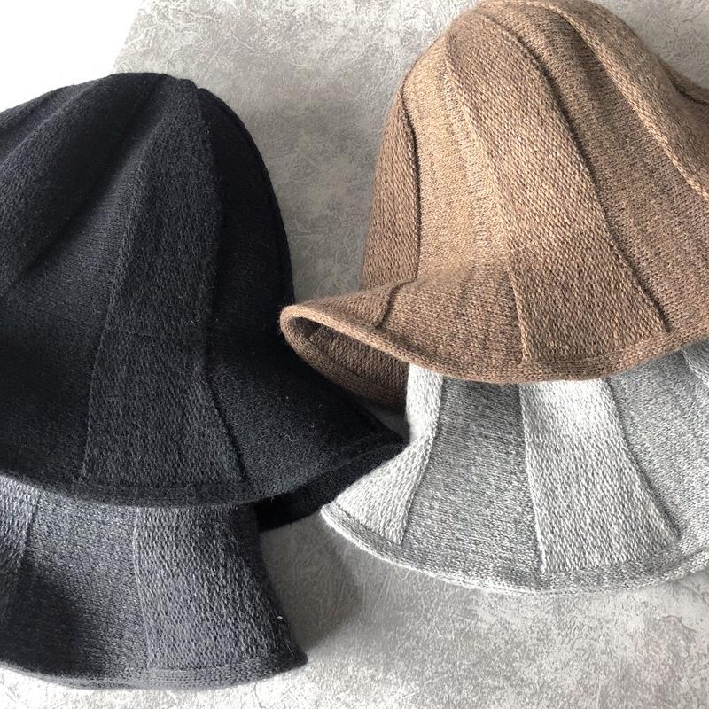 秋冬天针织帽