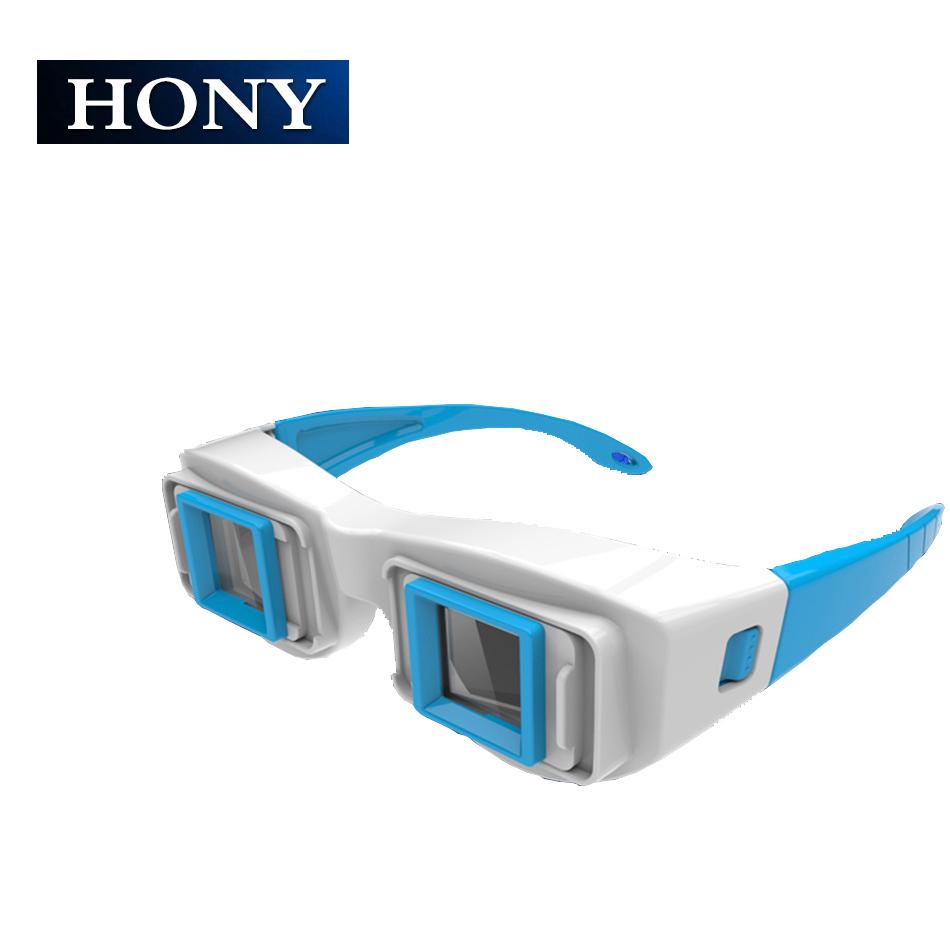 左右格式暴风电脑电视近视通用3d眼镜秒红蓝左右分屏立体观屏镜