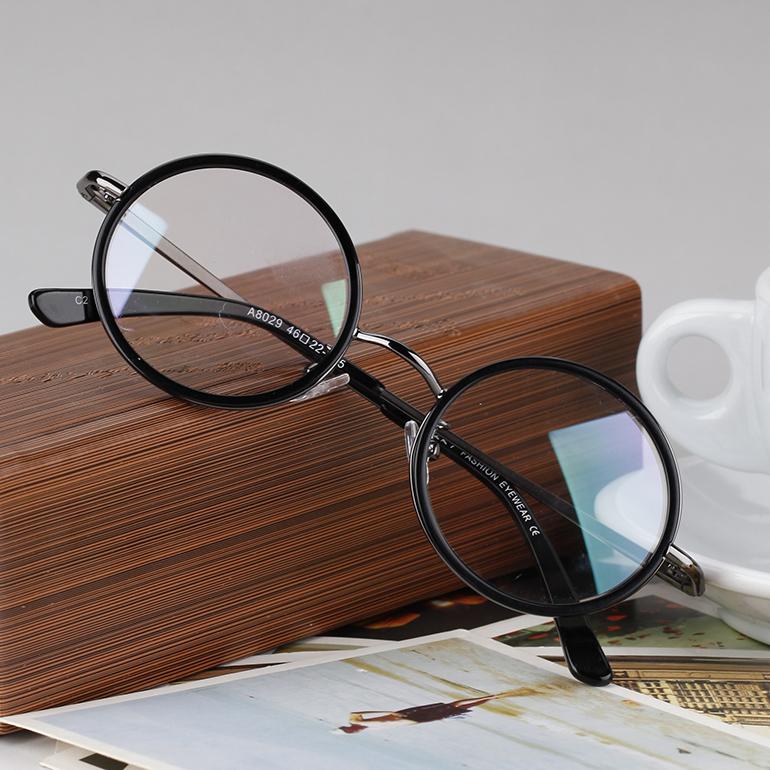 梅特纳兹复古椭圆形近视眼镜框 男女款眼镜小博士圆框架 潮人3元优惠券