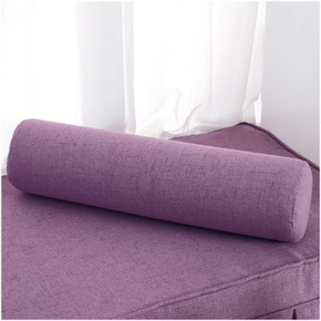 圆形海绵靠枕沙发腰枕抱枕靠糖果颈椎护颈枕头腰垫圆手枕