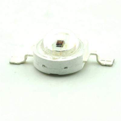 佐田|大功率LED灯珠 1W红光 红色 散光 照明LED 45-50LM (5只)