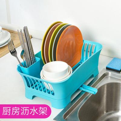 厨房置物架沥水碗架碗碟盘子餐具滴水收纳架碗柜塑料沥水架