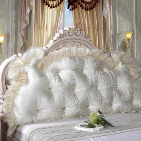 韩式田园公主床头大靠背软床头大靠垫床上双人长靠枕含芯床头软包