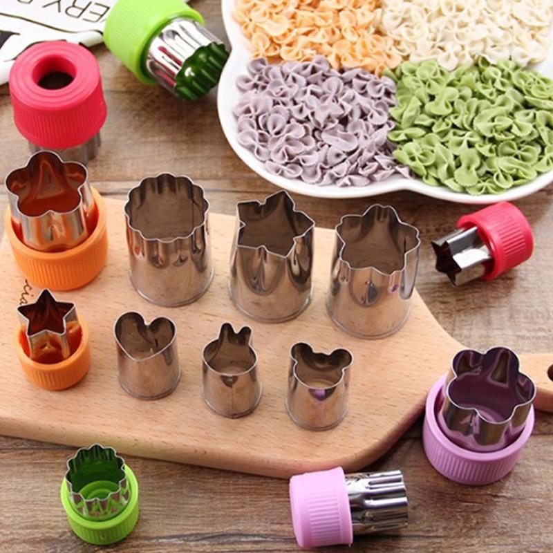 304不锈钢切水果模具蝴蝶面切花器家用面食面点烘培饼干馒头工具