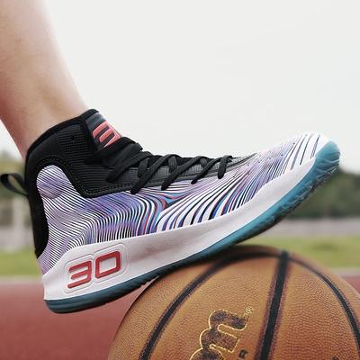 库里4代篮球鞋男高帮战靴nba全明星儿童实战球鞋大码女运动鞋夏季