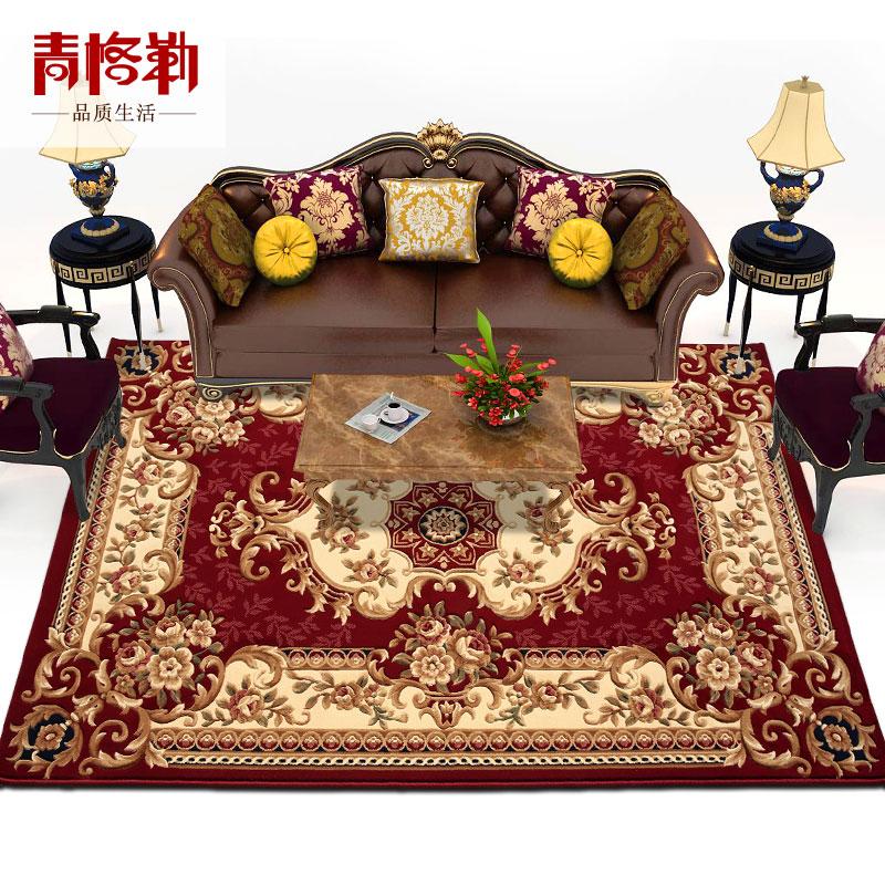 手工中式厚地毯