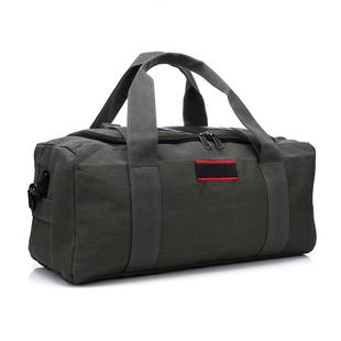 超大容量帆布包旅行包男手提行李包女短途旅行袋行李袋单肩搬家包