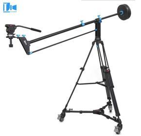 劳克 加长版摄像小摇臂 摄像机摇臂 影视婚庆微电影5D3摇臂2.4米