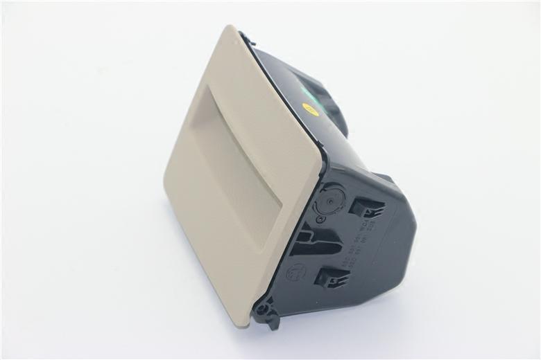 斯柯达15后全新明锐后烟灰缸后排烟灰盒储物盒扶手箱后烟灰缸