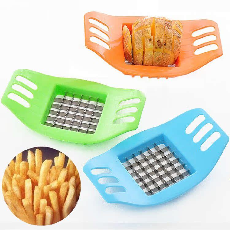 多功能家用土豆丝切丝器擦丝切片切菜器薯条切条器厨房用具土豆刃