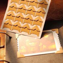 DIIKAA diy相册粘贴式影集纸质角贴 精装相角 24枚 张