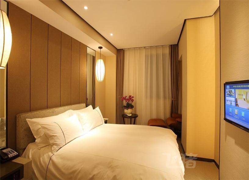 杭州百利沙湖畔酒店雅致大床房-信用住