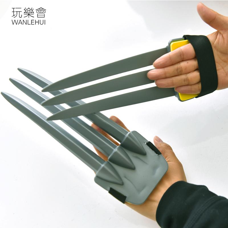 万圣节cosplay玩乐会面具塑料爪子武器