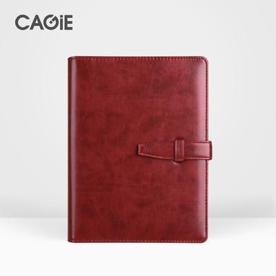 卡杰商务办公活页本A5手帐本复古日记本子笔记本文具记事本定制