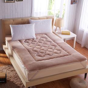 工厂店 加厚珊瑚绒法兰绒床垫折叠床褥 单双人学生宿舍榻榻米地铺