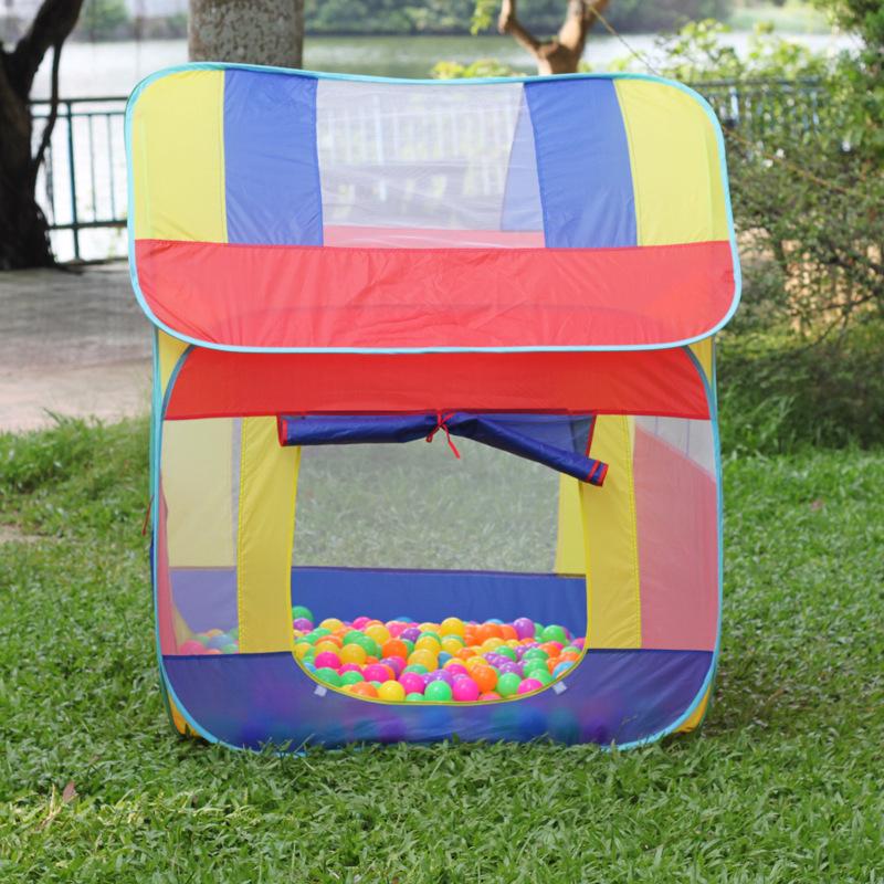 儿童加大号房子夏季透气帐篷游戏屋1.4米野外室内户外隧道帐篷