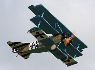 德国DR1双翼遥控轻木电动固定翼像真飞机CAD激光切割航模制作图纸