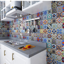 陶瓷砖地砖手绘砖欧式地中海风格花园砖小花砖花片楼梯砖100100