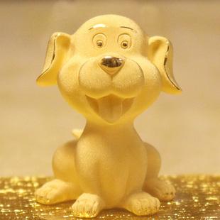 黄金摆件兔