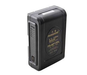 凡賽BP 130L電池索尼專業廣播級攝像機供電系統V型卡口大容量電池