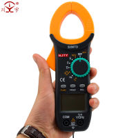 Digital clamp meter multimeter AC and DC current meter digital display universal table clamp table pocket capacitor clamp flow meter