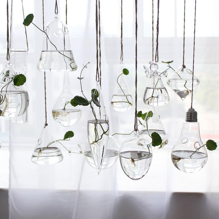 花瓶玻璃透明小号