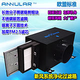 ANNULAR new fan home PT-40 fresh air system efficient in addition to PM2.5 defogging filter box purification box