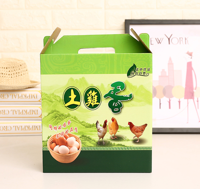 柴雞蛋包裝禮盒