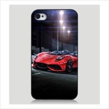个性时尚极速跑车 苹果iphone4/4S/5 精致质感磨砂PC手机壳硬壳
