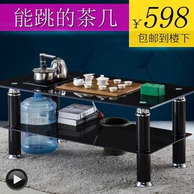 高强度钢化玻璃功夫茶几现代简约客厅小户型办公室自动上水泡茶桌图片