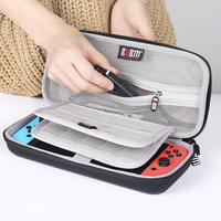 BUBM Nintendo switch protection package NS hard shell bracket nintendo portable shatter-resistant box game machine accessories full storage box cover clutch bag storage bag