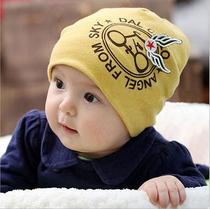 2018新款韩版儿童帽子女宝宝帽子婴儿帽子春秋冬季男童保暖套头帽