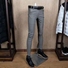 Spring wear new men's slim pants, plain-color trousers, trousers, young fashion casual pants, all pairs of men's trousers