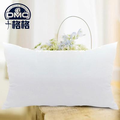 精准印花dmc十字绣 长方形抱枕 加厚饱满 枕芯