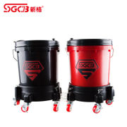 SGCB new grid pulley car wash bucket multi-function dish washer dishwasher 4S shop special car wash bucket