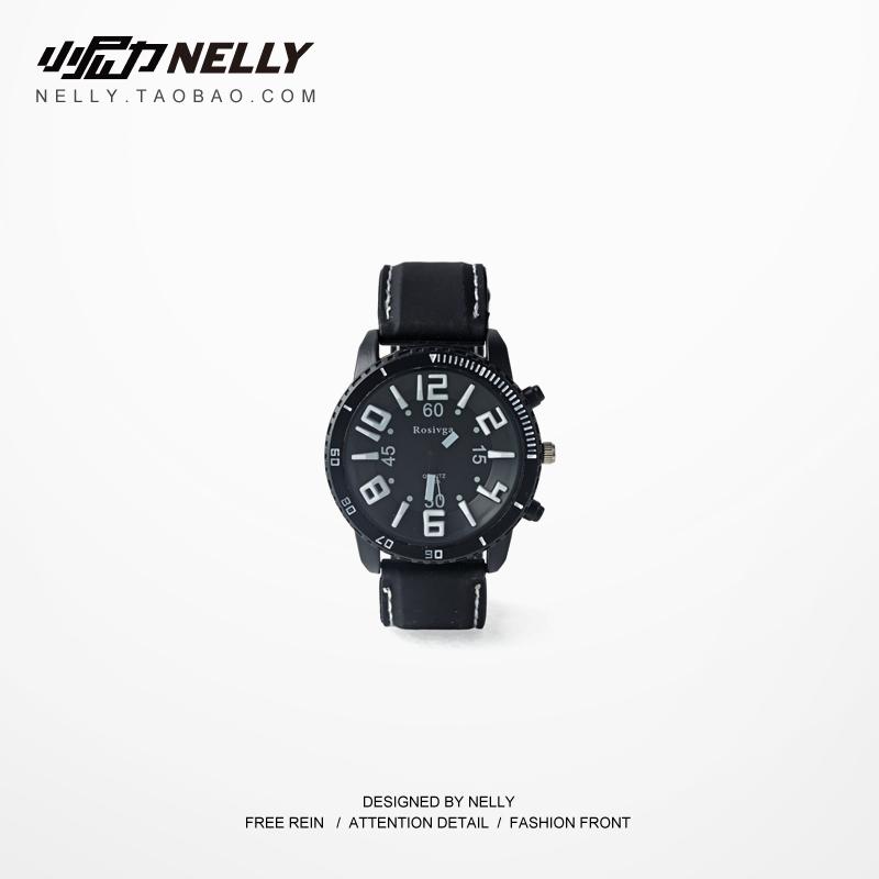 韩国大表盘手表