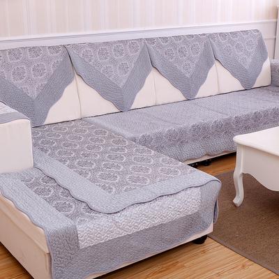 沙发垫冬季毛绒布艺四季防滑套组合巾罩欧式法兰绒皮坐垫简约现代网上专卖店