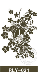 液体壁纸漆印花模具镂空模具墙面印刷模板液态墙纸硅藻泥RLY-031