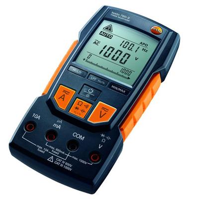 德国德图760 testo760-3 大屏幕数显真有效值 高精度万用表 正品