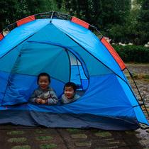 全自动冰钓帐篷冬钓加棉加厚保暖棉帐篷免搭建钓鱼防风雪双人帐篷