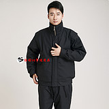 06 ground floor cotton clothes winter overalls warm suit men cold storage cotton coat labor insurance army fan supplies