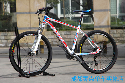 MOSSO 619XC2车架组装山地自行车26寸27速油刹乔森4培林轮组 包邮2018新款