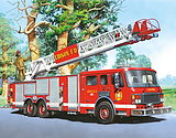 Castorland Si Polish Imported Children's Puzzle 60 Pieces Of Fire Truck Dinosaur Intelligence Toys