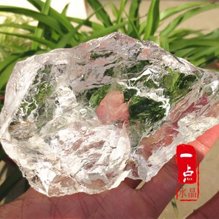 水晶石原石毛料