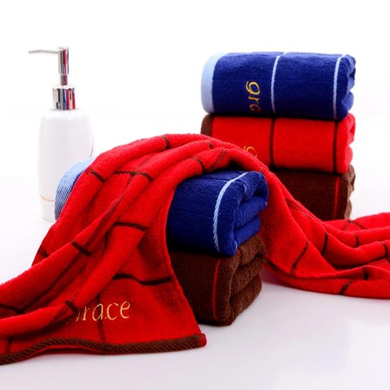 洁丽雅毛巾纯棉一等品