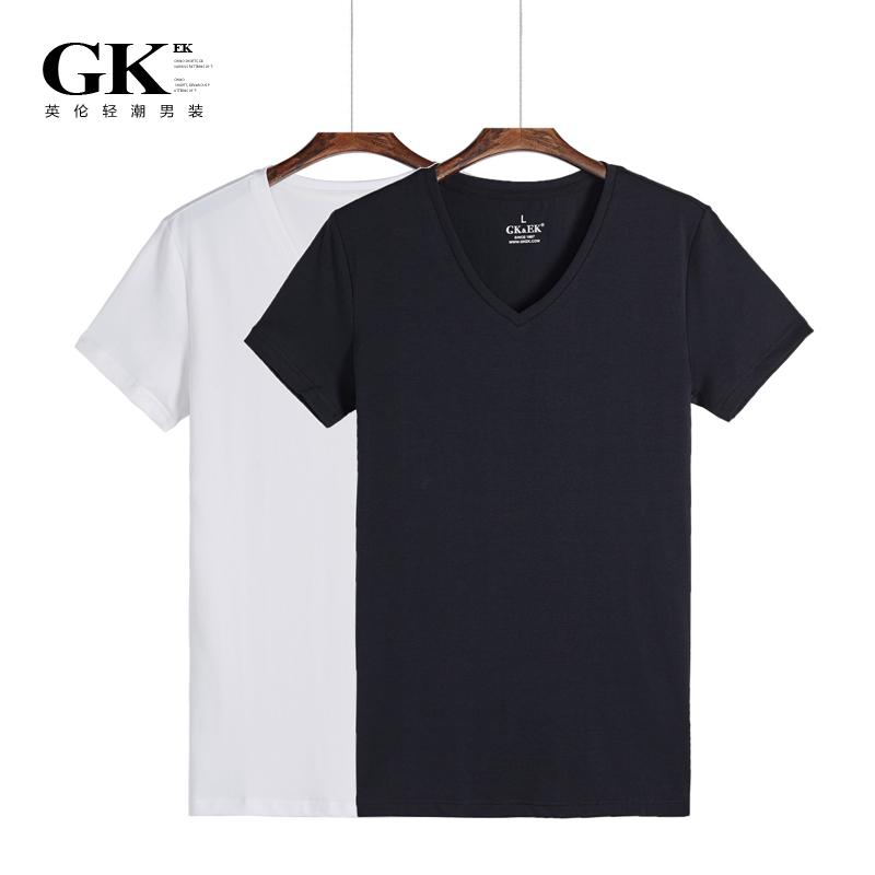 夏季休闲男士纯色T恤5元优惠券
