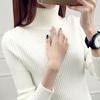 高领毛衣女装秋冬季新款2017韩版短款百搭套头加厚长袖针织打底衫