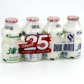 津威葡萄糖酸锌乳酸菌 津威酸奶 95ml*4瓶放心老品牌小伙伴的记忆图片