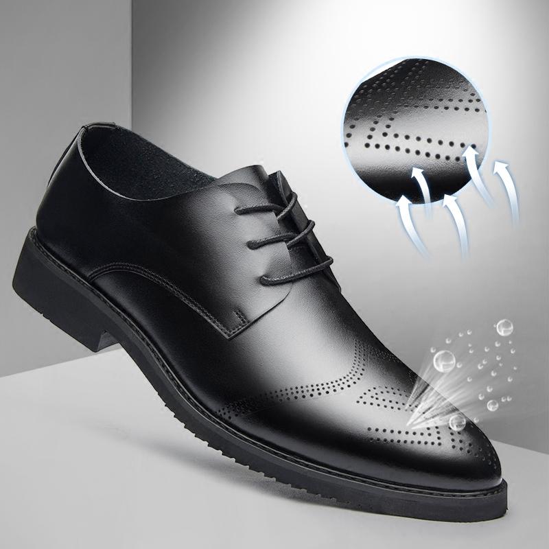 男士休闲鞋英伦内增高